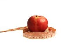 Apple body shape Stock Image