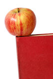 Apple and Book Stock Photos