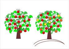 Apple-boom Royalty-vrije Stock Afbeeldingen
