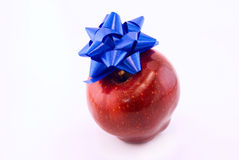 apple and bow Stock Photo