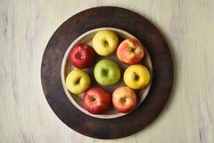 Apple Bowl Still Life Stock Photo