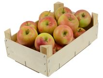 Apple box Stock Photos
