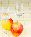 Apple brandy Royalty Free Stock Images