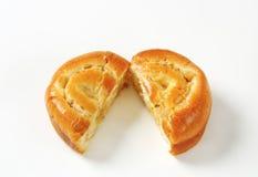 Apple-broodje Royalty-vrije Stock Afbeelding