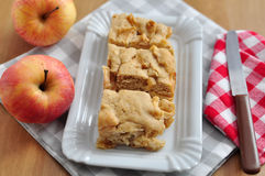 Apple Brownie Stock Photo