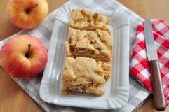 Apple Brownie Stock Photo