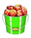 Apple bucket Fotos de Stock