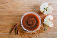 Apple-Butter Stockfotos