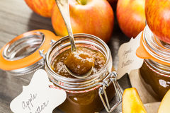Apple butter Royalty Free Stock Photo