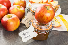 Apple butter Royalty Free Stock Photos