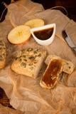 Apple butter still life Stock Photo