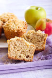 Apple buttermilk muffins Stock Image