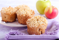 Apple buttermilk muffins Stock Images