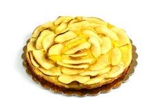 Apple Cake. On white background Stock Photo