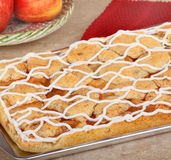 Apple Cake Stock Image