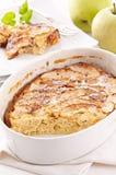 Apple cake Arkivbilder