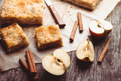 Apple-cake Stock Foto