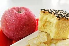 apple&cake Zdjęcie Royalty Free