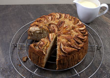 Apple cake Royalty Free Stock Images