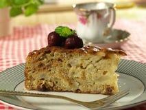 Apple cake dessert Stock Photo