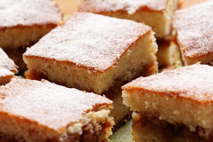 Apple cake dessert Stock Photography