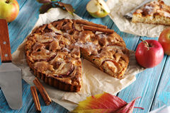 Apple cake Royalty Free Stock Photography