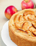 Apple cake Stock Photography