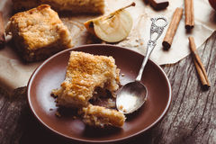 Apple cake Stock Photography