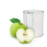 Apple can Royalty Free Stock Photos