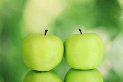 Apple candle Royalty Free Stock Photography