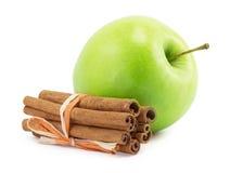 Apple, canella Stock Photos