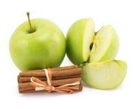Apple, canella Stock Photo