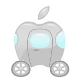 Apple car Royalty Free Stock Images