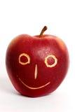 Apple-cara Fotografía de archivo libre de regalías