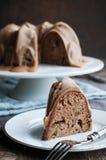 Apple Caramel Bundt Cake Royalty Free Stock Images