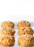 Apple Carrot Muffins Stock Images