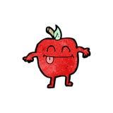 Apple cartoon character Royalty Free Stock Photography