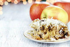 Apple Casserole Stock Images