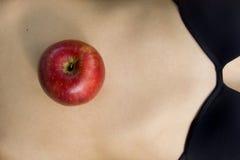 Apple in center Stock Photo