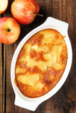 Apple charlotte pie Stock Images