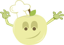 Apple chef Royalty Free Stock Image