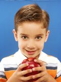 Apple child. Stock Images