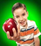 Apple child. Stock Image