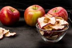 Apple chiper Royaltyfri Foto