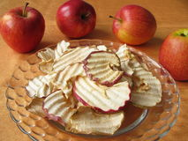 Apple chips Stock Photo