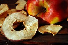 Apple chips Royalty Free Stock Photography