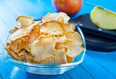 Apple-Chips Stockbilder