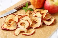 Apple chips Royalty Free Stock Photo