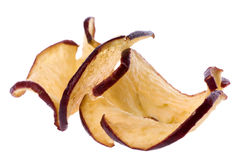 Apple Chips Isolated Royalty Free Stock Photography