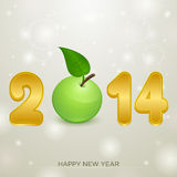 2014 apple christmas backgorund. 2014 apple christmas background illustration Stock Photo